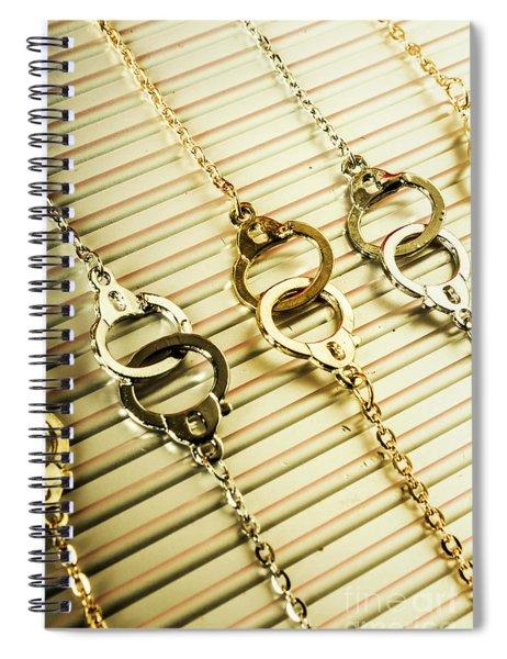 Grips Of Law Enforcement Spiral Notebook
