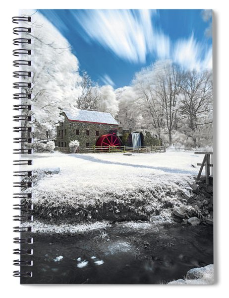 Grist Mill In Halespectrum Spiral Notebook