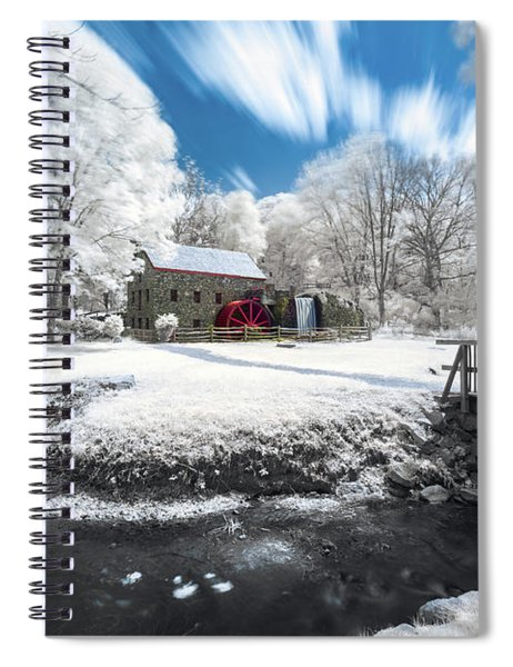 Grist Mill In Halespectrum Spiral Notebook