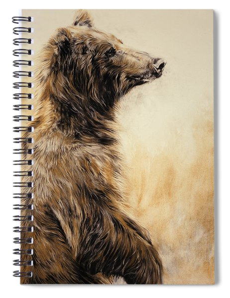 Grizzly Bear 2 Spiral Notebook