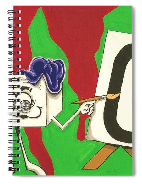 Groovy Spiral Notebook