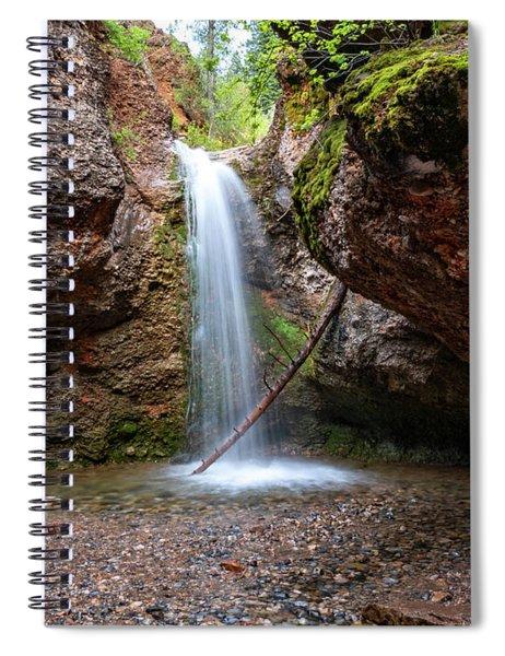 Grotto Falls Spiral Notebook