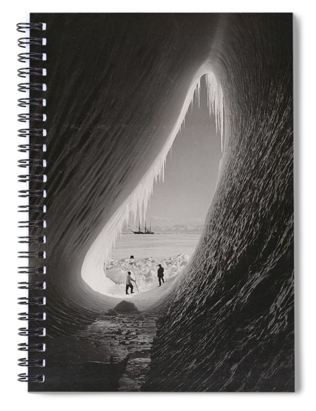 Grotto In An Iceberg, Photographed During The British Antarctic Expedition Of 1911-1913, 5 Jan 1911, Spiral Notebook