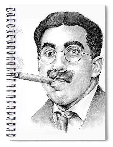 Groucho Spiral Notebook