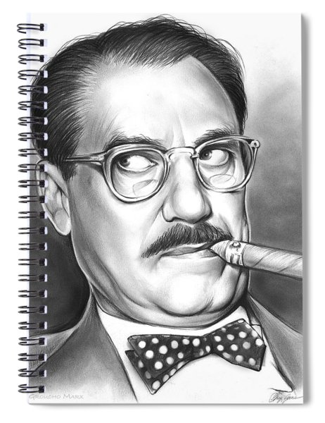 Groucho Marx Spiral Notebook