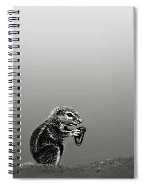 Ground Squirrel Spiral Notebook