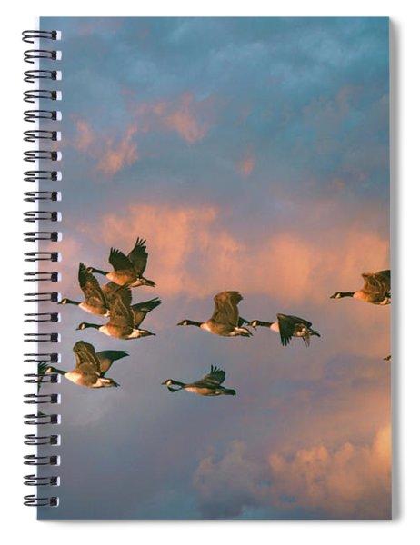 Group Flight Spiral Notebook