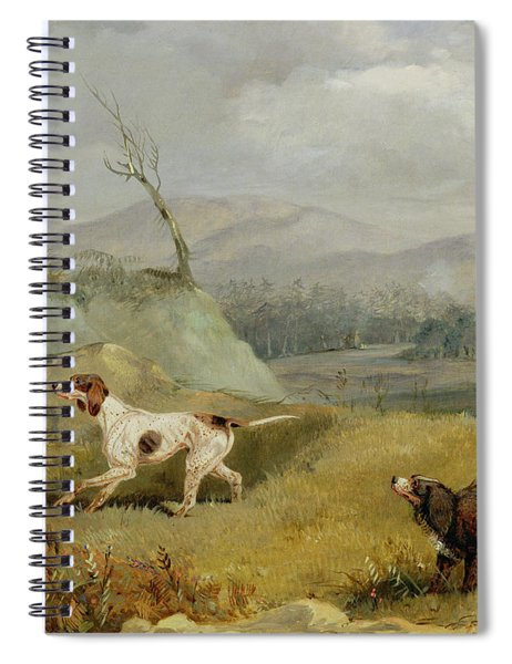 Grouse Shooting  Spiral Notebook