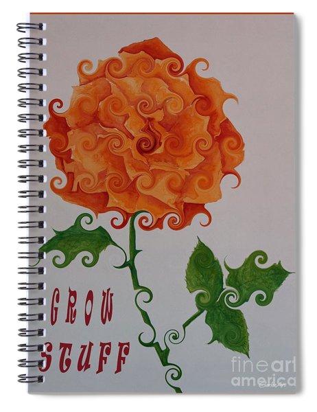 Grow Stuff Spiral Notebook