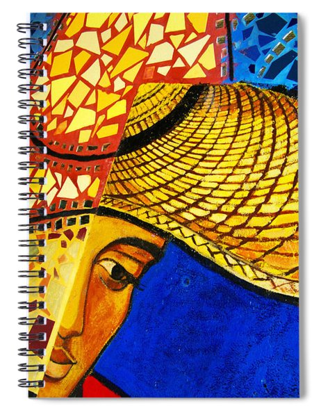 Growing Edgewater Mosaic Spiral Notebook