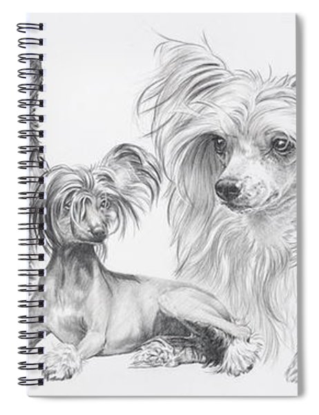 The Chinese Crested And Powderpuff Spiral Notebook