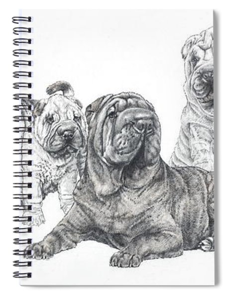 Mister Wrinkles And Family Spiral Notebook