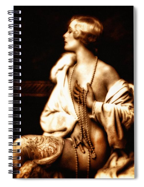 Grunge Goddess Spiral Notebook