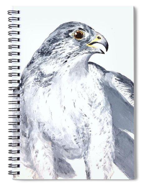 Gryfalcon Portrait Spiral Notebook