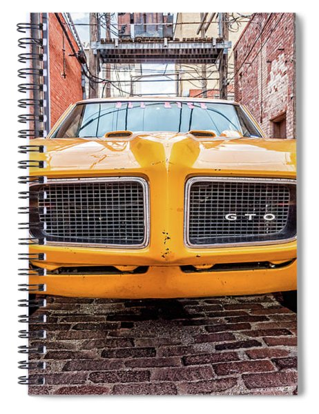 Gto - Pontiac Muscle Spiral Notebook
