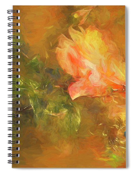 Guarded Robin Blue Oil Spiral Notebook