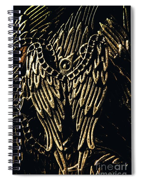 Guardian Angel Charms Spiral Notebook