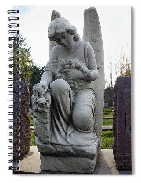 Guardian Of Souls Spiral Notebook