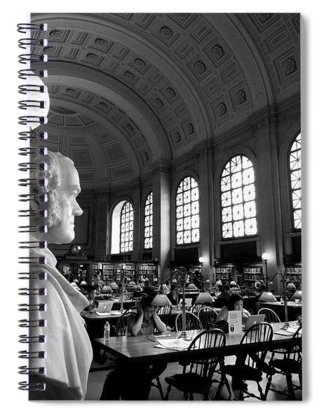 Guarding The Knowledge Spiral Notebook