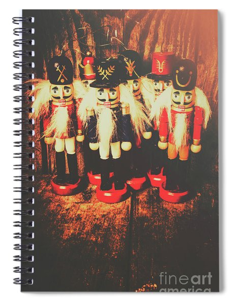 Guards Of The Toy Box Spiral Notebook
