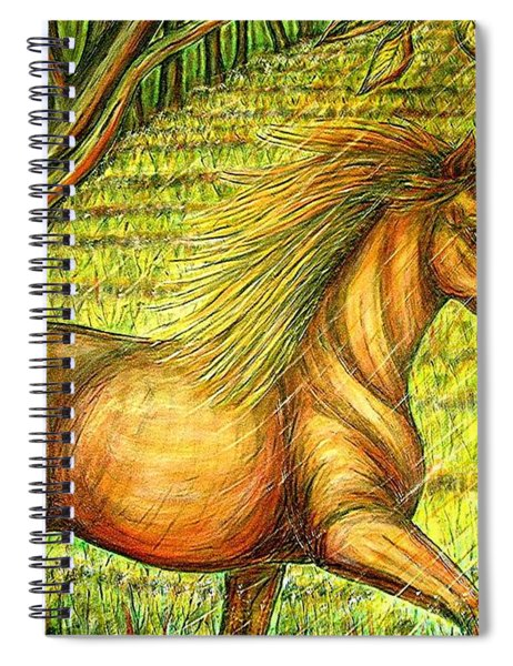 Guidance-out Of The Woods Spiral Notebook