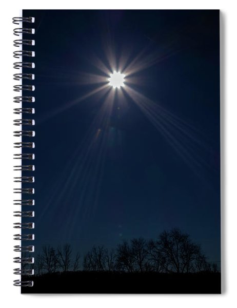 Guiding Light Spiral Notebook