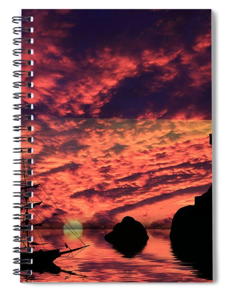 Guiding The Way Spiral Notebook