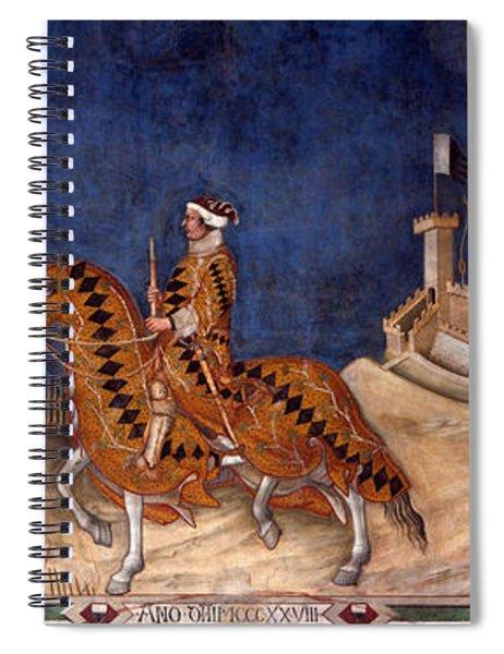 Guidoriccio Da Fogliano Spiral Notebook