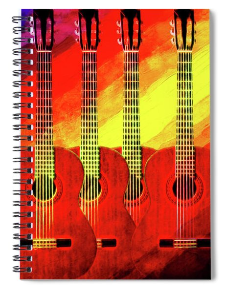 Guitar Fantasy One Spiral Notebook
