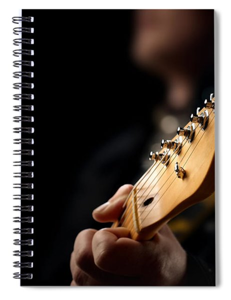 Guitarist Close-up Spiral Notebook