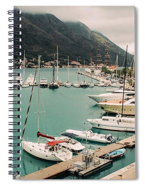 Gulf Of Kotor Spiral Notebook