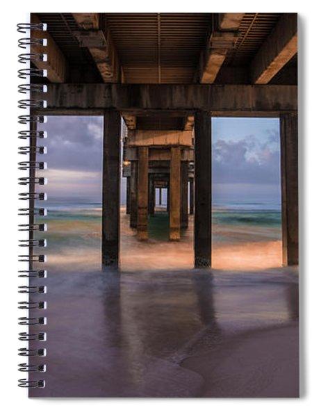 Gulf Shores Alabama Pier Sunrise  Spiral Notebook