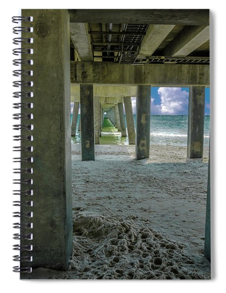 Gulf Shores Park And Pier Al 1649 Spiral Notebook