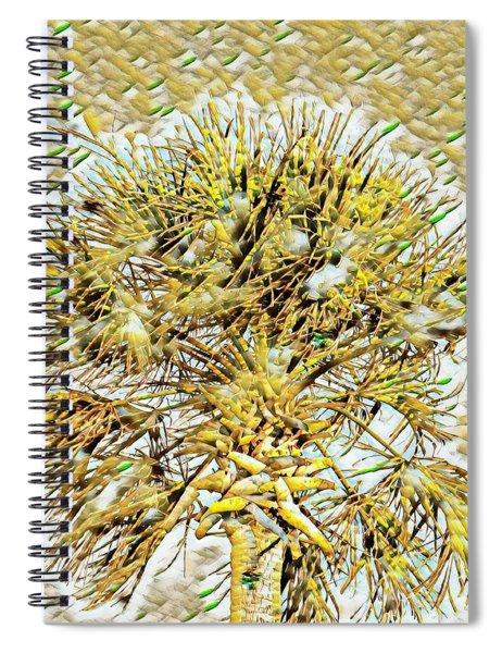 Gullah Palm Spiral Notebook