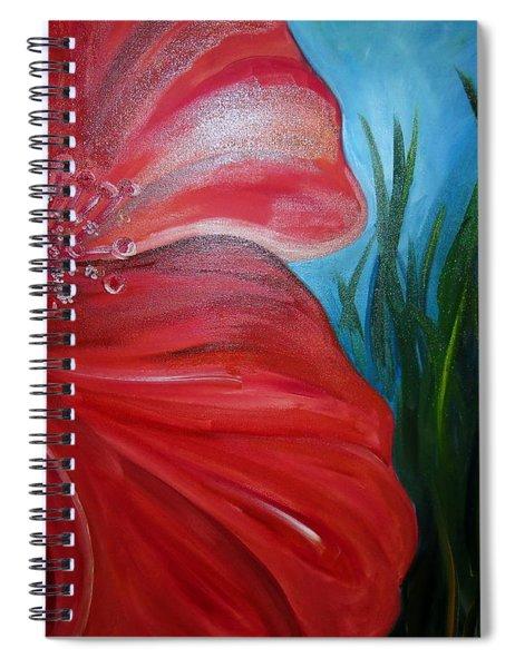 Gumamela Spiral Notebook