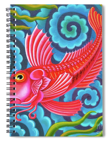 Gurnard Fish Spiral Notebook