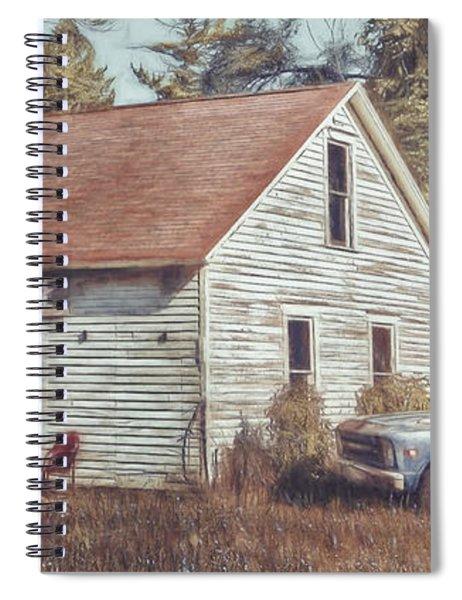 Gus Klenke Garage Spiral Notebook