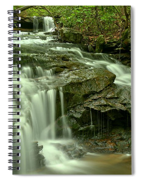 Gushing Through Forbes State Forest Spiral Notebook