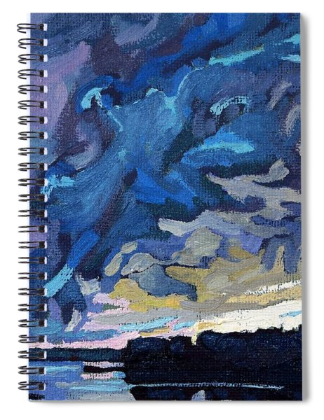 Gust Front Spiral Notebook