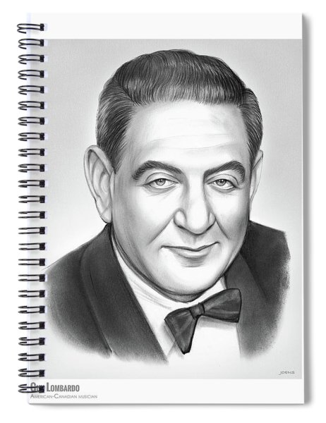 Guy Lombardo Spiral Notebook