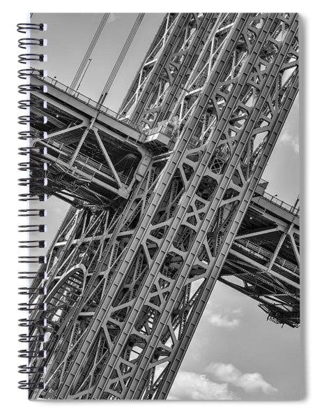 Gwb Double Decked Suspension Spiral Notebook