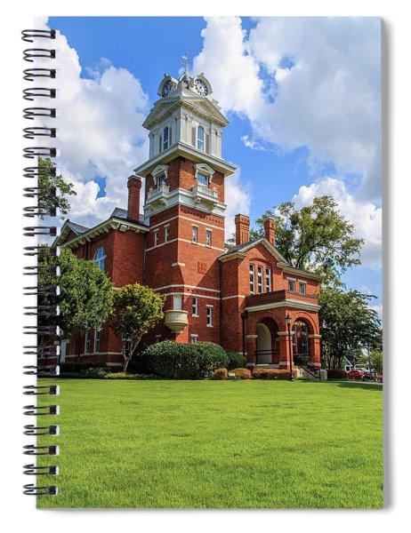 Gwinnett County Historic Courthouse Spiral Notebook by Doug Camara