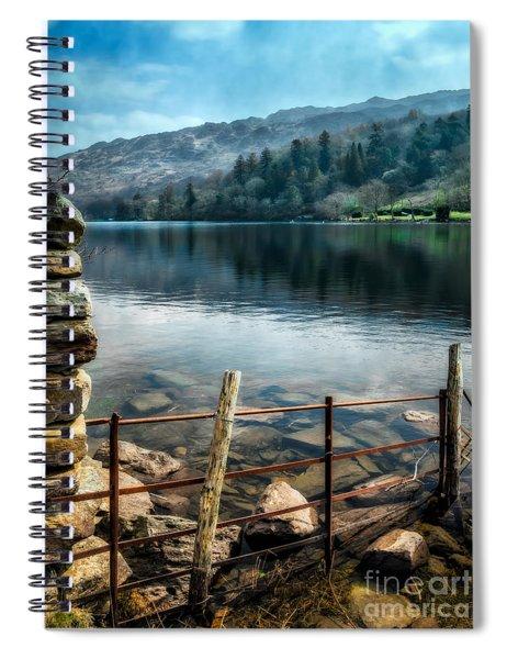 Gwynant Lake Spiral Notebook