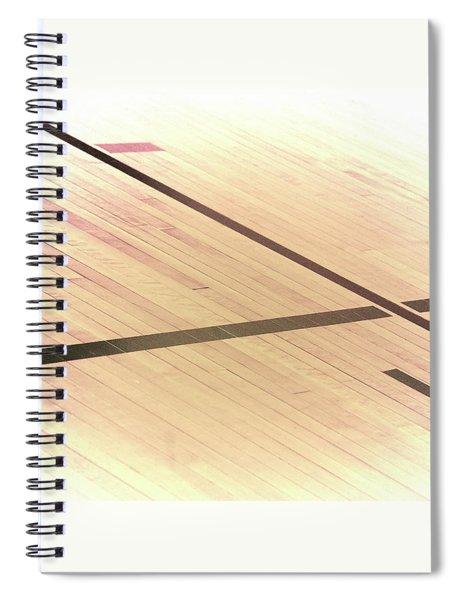 Gym Floor Spiral Notebook