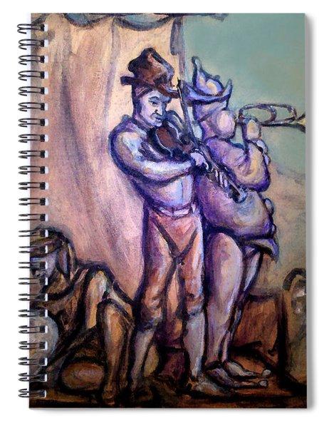 Gypsies Part 2 Spiral Notebook