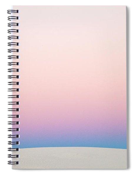 Gypsum Dune At Sunset Spiral Notebook by Yva Momatiuk John Eastcott