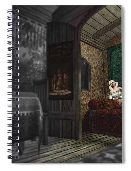 Gypsy Night Spiral Notebook