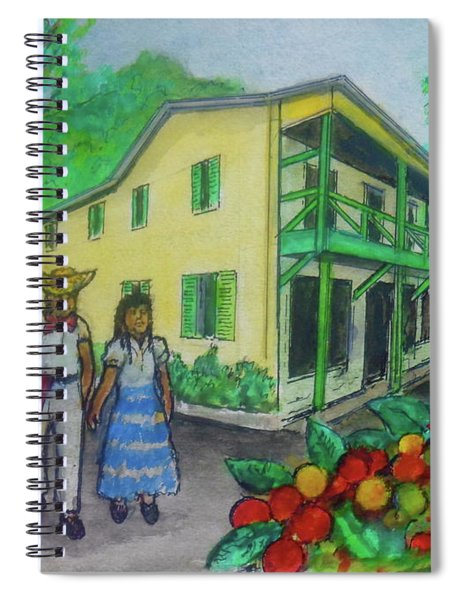 Hacienda Juanita Plantation In Puerto Rico Spiral Notebook