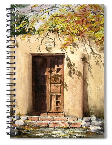 Hacienda Gate Spiral Notebook