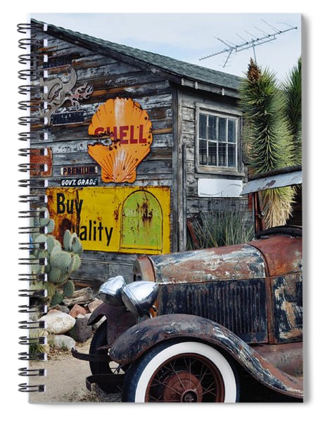 Hackberry Route 66 Auto Spiral Notebook